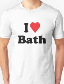 I Heart Love Bath T-Shirt