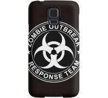 Zombie Outbreak Response Team Logo Samsung Galaxy Case/Skin