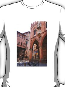 The ancient streets of Bologna T-Shirt