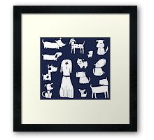 puppers Framed Print
