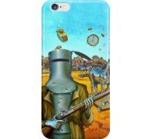 Ned Kelly, the Last Stand iPhone Case/Skin