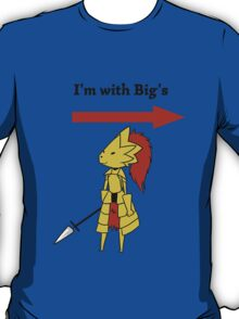 I'm with bigg's T-Shirt