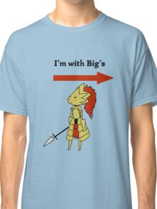 I'm with bigg's Classic T-Shirt