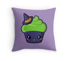 Spooky Cupcake - Wicked Witch Throw Pillow