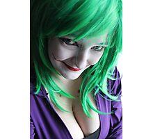 Evil Little Smile Photographic Print
