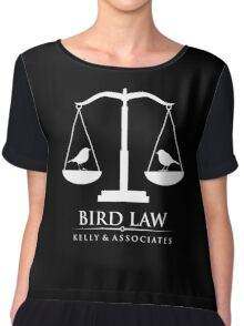 bird law Chiffon Top