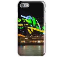 Shark Sails Too - Sydney Opera House - Sydney Vivid Festival iPhone Case/Skin