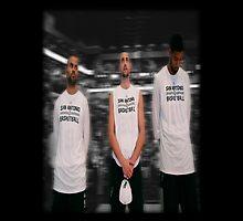Spurs Big 3 Soft Edge by Jeffrey Garcia