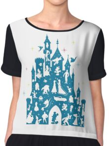 Most Magical Castle Chiffon Top