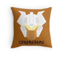 Chromedome Throw Pillow
