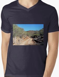 The Ridgetop Trail Mens V-Neck T-Shirt