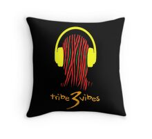 Tribe 3 Vibes Pillow  Throw Pillow