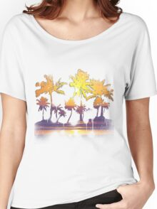 Spraypaint Sunset Women's Relaxed Fit T-Shirt