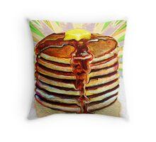 Sunday Breakfast Throw Pillow