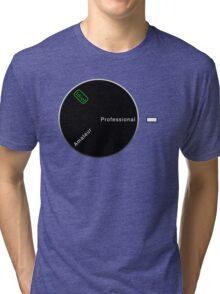 Camera Modes Tri-blend T-Shirt