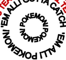 Pokeball Lyrics Sticker