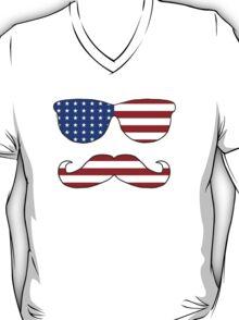 Patriotic Funny Face T-Shirt