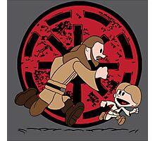 Lets Be Jedi (Qui Gon & Anakin EP1) Photographic Print
