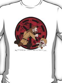 Lets Be Jedi (Qui Gon & Anakin EP1) T-Shirt