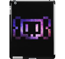 8 bit Skull Galaxy iPad Case/Skin