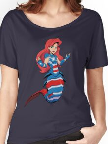 Ocean Patriot Women's Relaxed Fit T-Shirt