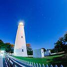 ocracoke islad lighthouse by Alexandr Grichenko