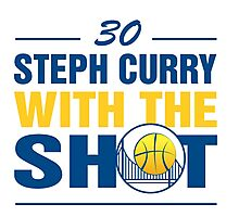 Steph Curry with the Shot #2 Photographic Print