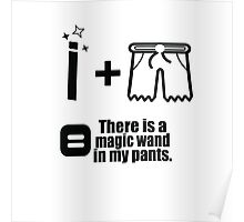 Magic wand in my pants Poster