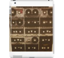 Cassettes on Canvas iPad Case/Skin