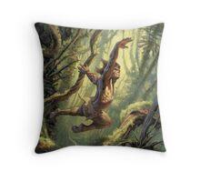 Tarzan Lord Of The Jungle Throw Pillow