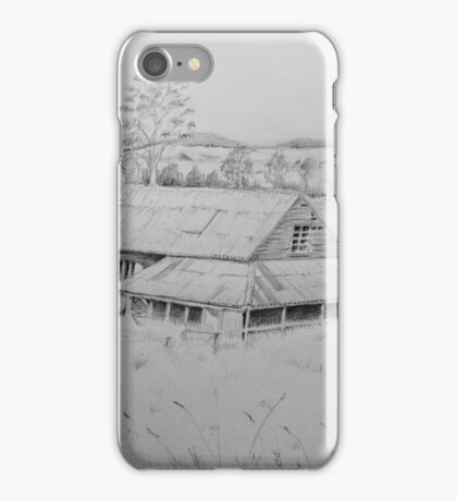 Wool shed , Spring plains , Mia Mia  iPhone Case/Skin