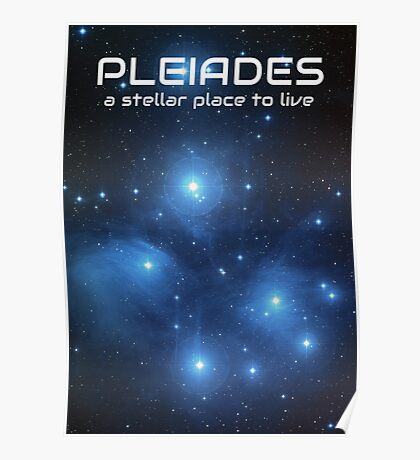 Visit the Pleiades Poster