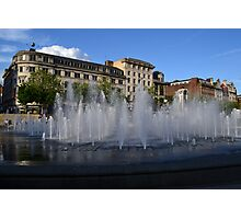 Piccadilly Garden Photographic Print