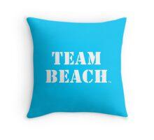 TEAM BEACH@Home - Throw Pillows Throw Pillow