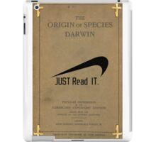 Charles Darwin- Just Read it. iPad Case/Skin