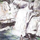 Little Crystal Creek, Paluma by John Douglas