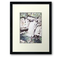 Little Crystal Creek, Paluma Framed Print