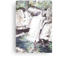Little Crystal Creek, Paluma Canvas Print