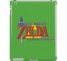 Zelda: A link to the past intro iPad Case/Skin