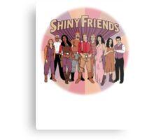 Shiny Friends Metal Print