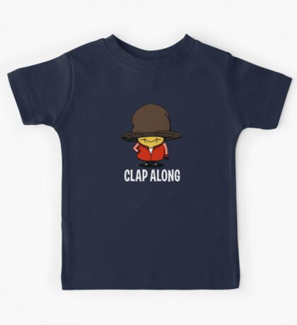 Clap Along... Cause I'm Happy Kids Tee