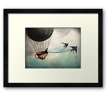 Around the world in a teacup Framed Print