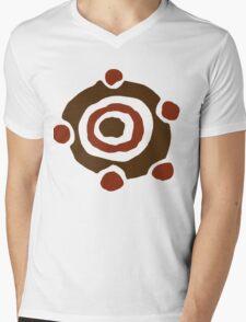 Colored Gronkle Emblem Mens V-Neck T-Shirt