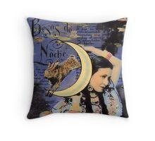 The Moon Goddess Throw Pillow