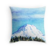The Mountain My Grandmother Loved Throw Pillow