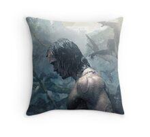 The Legend Of Tarzan Throw Pillow