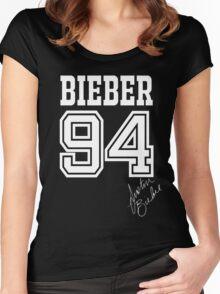 BIEBER 94 Women's Fitted Scoop T-Shirt