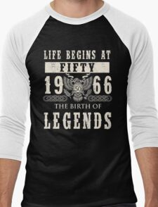 1966 Men's Baseball ¾ T-Shirt