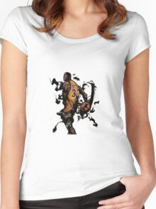 magic jhonson art Women's Fitted Scoop T-Shirt