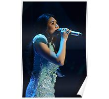 Sarah G. in Blue Poster
